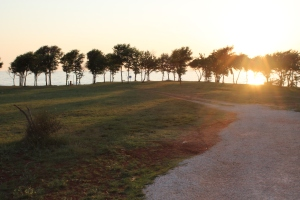 Solnedgång över Umag