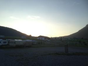 Solnedgång i inzell