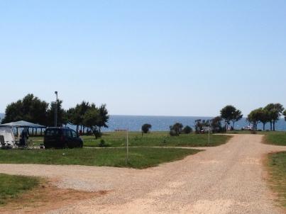 Medelhavet utanför Campingen